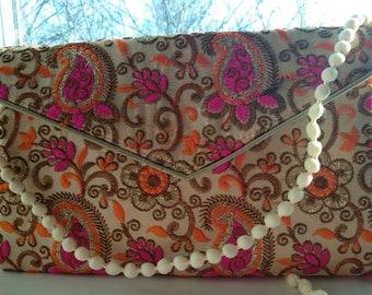 Boho Banjara purse, clutch, evening  patry purse.