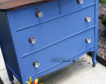 NOT AVAILABLE SOLD Customize a  Drawer Dresser Chest of Drawers - this one is sold example only