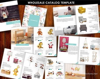 Wholesale Product Catalog template, jewellery Catalogue Template, Magazine Templates, Product Brochure, lookbook template, Interior Catalogs
