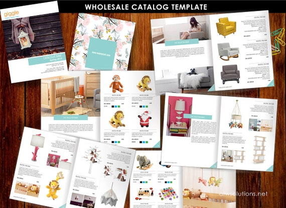 Wholesale Product Catalog Template Jewellery Catalogue