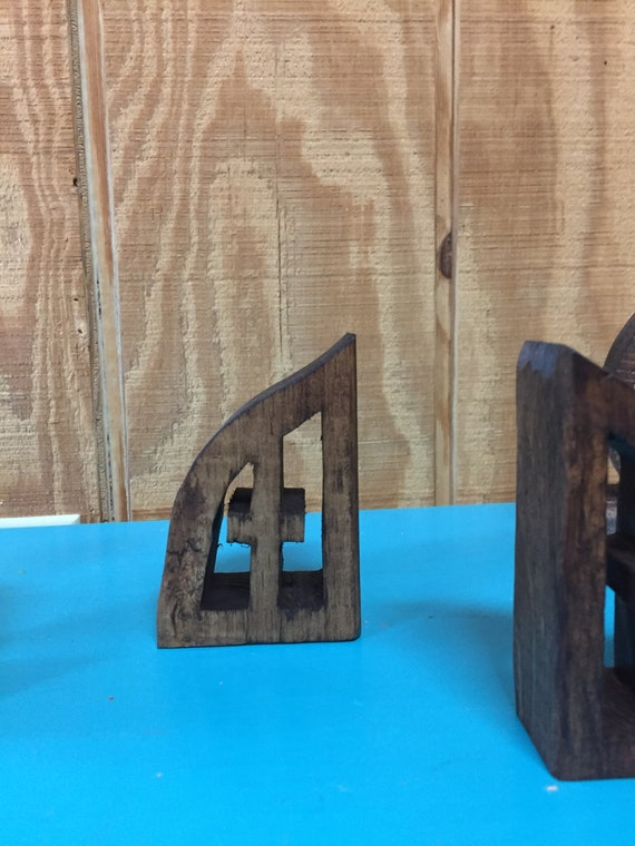 Wooden Cross Carving | One piece Wooden Cross and Frame | Approximately 4 inches Tall