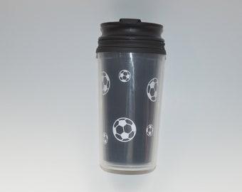 Soccer ball Kids travel mug