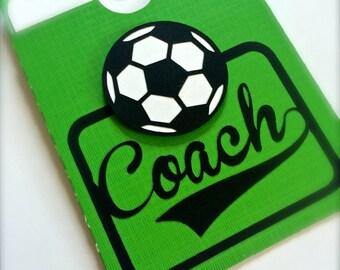 Soccer Coach Gift Card Holder