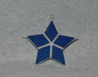 Basic Peyote Star Pattern