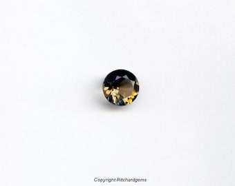 AAA Semi Precious 8 mm Faceted Round Smoky Smokey Quartz For One