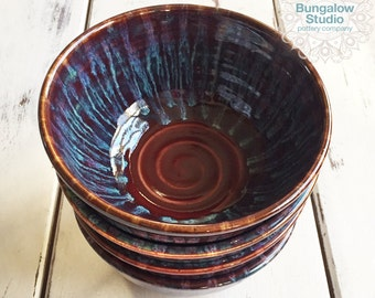 Ceramic Bowl, Pottery Bowl, Ceramic Salad Bowl