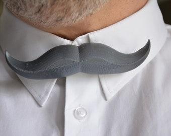 Bow tie mustache