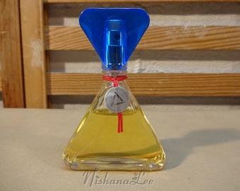 Vintage 1986 Liz Claiborne Eau De Toilette Spray 1.7 Oz Bottle with Some Used