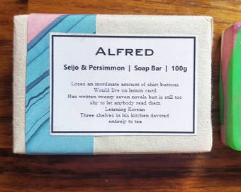 ALFRED - Seijo & Persimmon  Shea Butter Handmade Soap