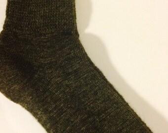 Alpaca Light Weight Dress Socks - Women's Dark Grey