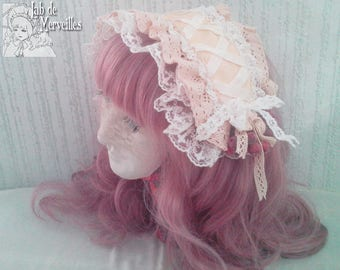 Rectangle Headdress for Lolita fashion Cult Party kei
