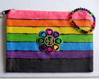 love flower wristlet