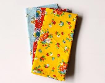 Handmade Handkerchiefs: Rainbow Collection