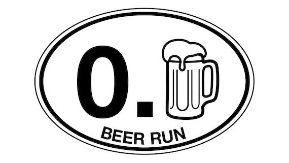 Run ! Sticker