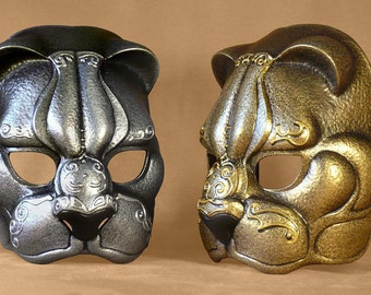 Feline Latex Animal Mask for theatre, fair, LARP and cosplay