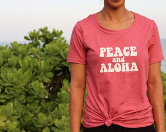 Peace and aloha!