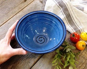 Soup bowl – Pottery noodles bowl, Ceramic, Stoneware, Handmade, Wheel thrown