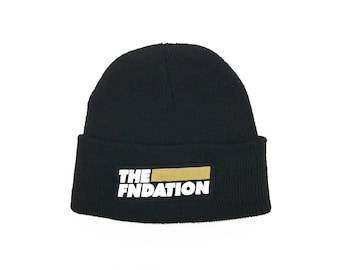 The Fndation Beanie Large Logo
