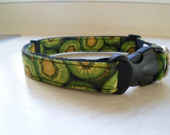 Unique hand made collar. Kiwi fruit made in N.Z.
