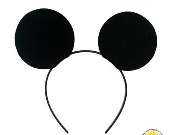 Deluxe Mickey Mouse Ear Headbands