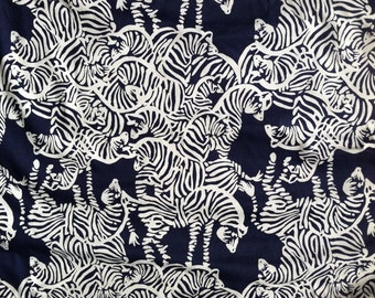 Lilly Pulitzer fabric  I Herd You 18 X 18 inches