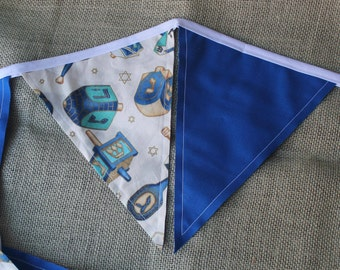 Hanukkah Fabric Banner Bunting – Version 2