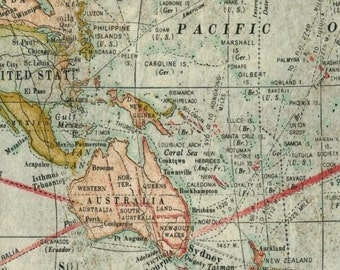 Map Fabric Antique World Globe Cartography Tim Holtz Vintage Nautical Geography Ocean Sailing Expedition T1 32