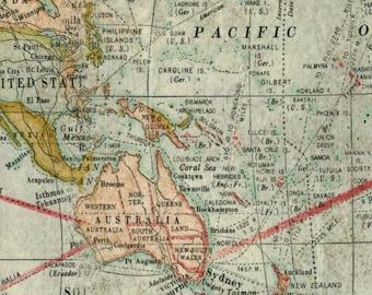 Nautical Ocean World Ship Anchor Map Fabric Boat Sea World Marine ...