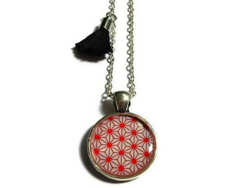 GIRLS TASSEL NECKLACE - Jewelry for girls - gift for kids - kids jewelry - necklace for girls - Japanese style - Red Necklace