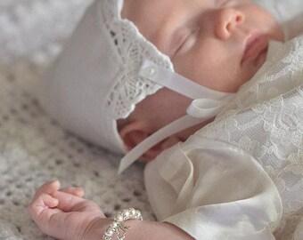 Personalized Baptism Bracelet for Girl Baptism Gift Girl Baby Baptism Jewelry Christening Jewelry Baby Bracelet Christening Gifts