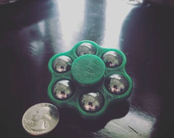 Fidget Spinner Classic Mini Six Shooter - 3D Printed Toy - EDC Spinner - Fidget Toy - Hand Spinner - Stress Toy - Everyday Carry