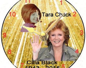 Cilla Black CD Clock