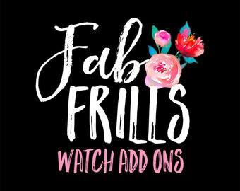 Watch Add Ons