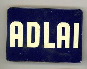 Adlai Stevenson campaign button