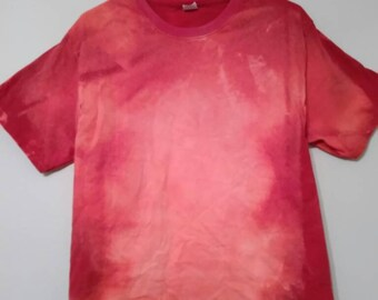 Medium Hanes Red bleached shirt - read description