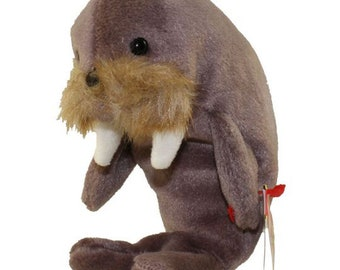 Vintage Beanie Baby: JOLLY the Walrus 1996 - MINT Condition.