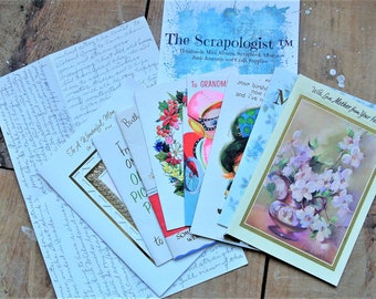 Vintage Greeting Card Bundle - 1950s | Set of 7