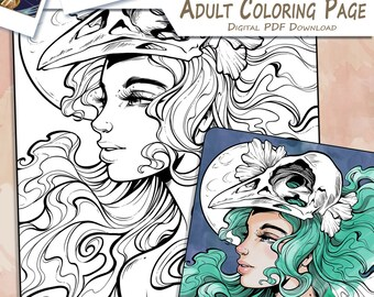 Among Us - Adult Coloring Page
