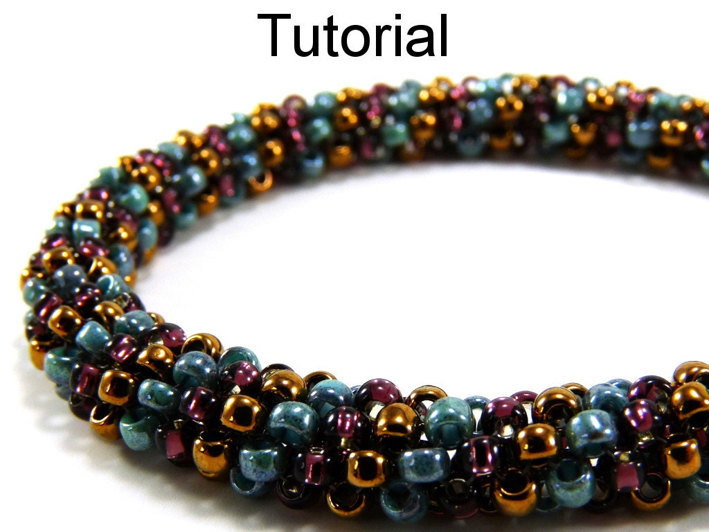 Easy Beginner Beading Patterns Tubular Peyote Jewelry Making