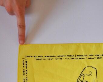Yellow Hanky- Mature