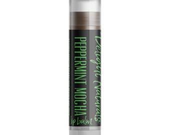 Peppermint Mocha Lip Balm - Single Tube