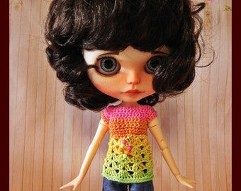 Top for Blythe doll