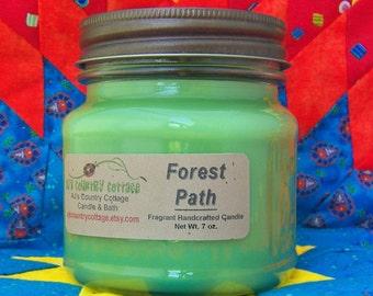 FOREST PATH CANDLE - Strong - Fresh Greenery Woods - Clearance Sale - Last ones