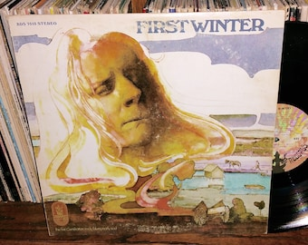 Johnny Winters First Winter Vintage Vinyl Record