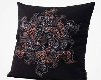 16x16 Throw Pillow Cover Mandala Pillow Case Home Decor Gift Accent Pillow Cushion Cover