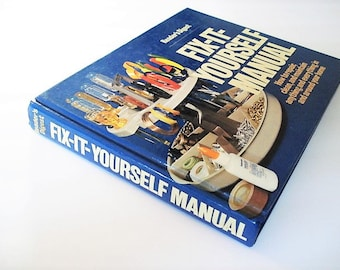 Handyman book home repair book1970s repair book fix it do it yourself manual home manualhome repair book jewelry carpentry book solutioingenieria Gallery
