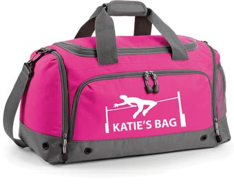 iLeisure High Jump Holdall with your Name/Club Holdall Printed Kit Bag.
