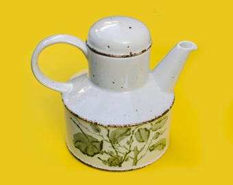 Midwinter Stonehenge 'Green Leaves' Large Teapot