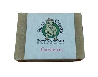 Gardenia Goat Milk Soap, Gardenia Soap. Flower Soap, Floral Soap, Goat Milk Soap