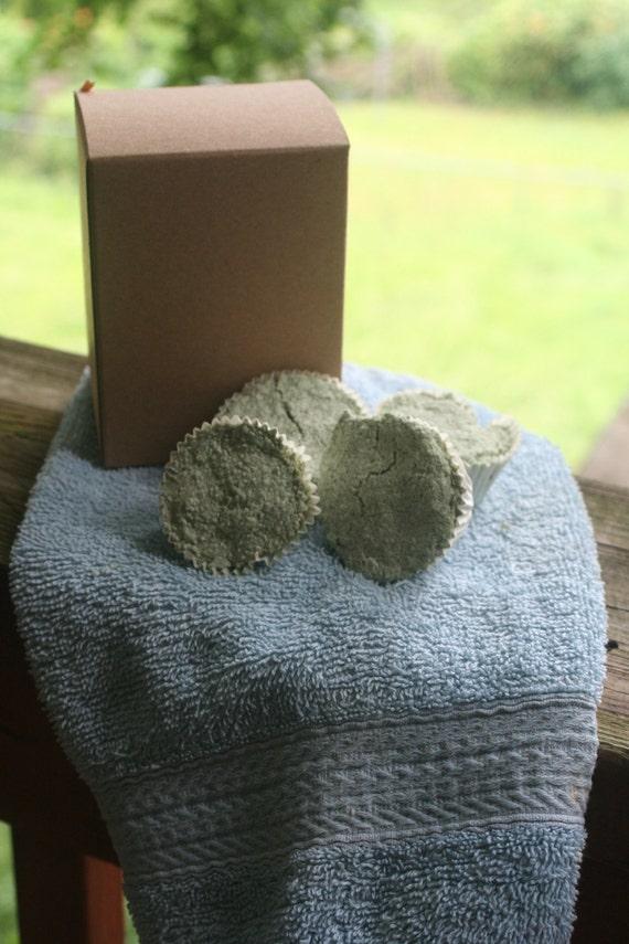 All Natural Aromatherapy Shower Tabs Eucalyptus Spearmint essential oil Sinus